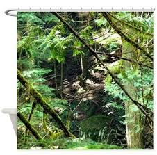 Rainforest Shower Curtain - unique shower curtains artsciencespirit