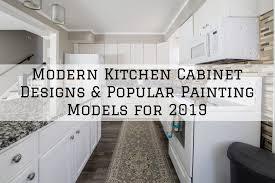 modern kitchen cabinet designs 2019 brush roll painting modern kitchen cabinets designs