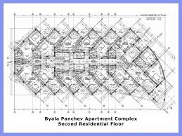 Residential Floor Plan by Artist High Rise Residential Building Plans Home Residential