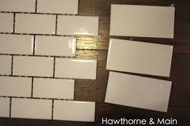 Tiling A Kitchen Backsplash Do It Yourself Diy Kitchen Backsplash Hawthorne And