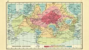 travel world map time travel 1843