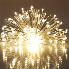 furniture led fairy string lights battery operated warm white