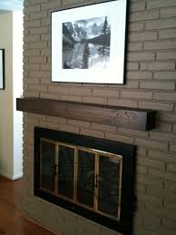 Stone Fireplace Mantel Shelf Designs by Interior Wood Mantels And Wood Mantel On Stone Fireplace Also