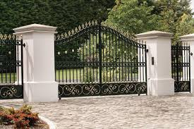 gate and fence main entrance door design steel entry gates door
