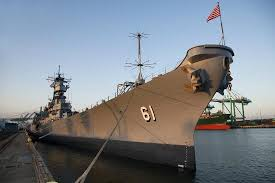 Bathtub Battleship Battleship Uss Iowa Bb 61 Los Angeles Tripadvisor