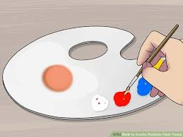 3 ways to create realistic flesh tones wikihow