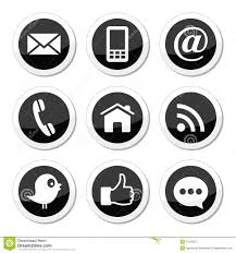 Facebook Icon by Contact Web Blog And Social Media Round Icons Twitter