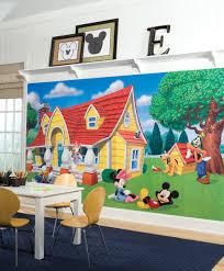 jl1222m disney kids mickey friends prepasted xl sized wallpaper disney kids mickey friends prepasted xl sized wallpaper mural