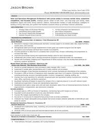 Operations Manager Resume Marketing Operations Manager Resume Resume For Your Job Application