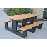 recycled plastic picnic tables plastic picnic tables the park