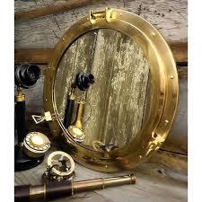 recessed porthole medicine cabinet porthole medicine cabinet large inch polished brass porthole mirror