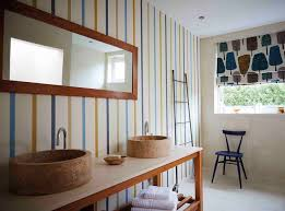 Striped Wallpaper Bathroom 13 Best Checks U0026 Stripes Images On Pinterest Scion Texture And