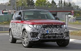 suv range rover interior 2017 range rover sport facelift spied inside u0026 out autoevolution