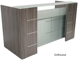 Maple Reception Desk by Front Reception Desk In 5 Colors