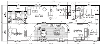 Floor Plans For Mobile Homes Double Wide Mariner Mobile Home Floor Plan Factory Expo Home Centers