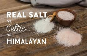 sea salt and table salt comparing real salt to himalayan or celtic real salt