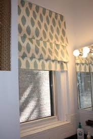 Curtains For Big Kitchen Windows by Diy No Sew Faux Roman Shade Our Fifth House Faux Roman Shades