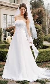davids bridal david s bridal 250 size 4 new un altered wedding dresses