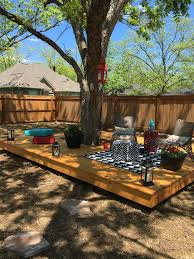 Small Backyard Trees by Floating Deck Around A Tree Back Yard Pinterest Floating