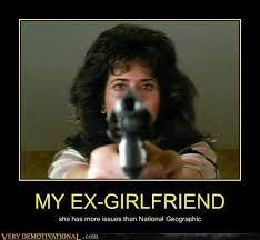 Funny Ex Girlfriend Memes - very demotivational ex girlfriend very demotivational posters