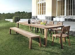 large outdoor dining table outdoor dining table lesdonheures com
