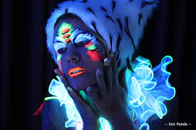Black Light Body Paint Body Painting In California San Francisco Body Painting