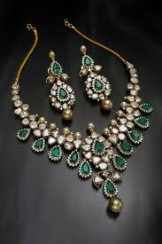 diamond emerald necklace images Diamond emerald necklace jpg