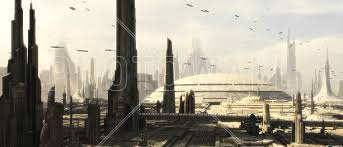 star wars coruscant buildings 1 wall mural photo wallpaper star wars coruscant buildings 1