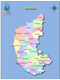 India River Map by Karnataka