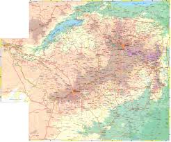 Physical Map Of South Africa by Maps Of Zimbabwe Map Library Maps Of The World