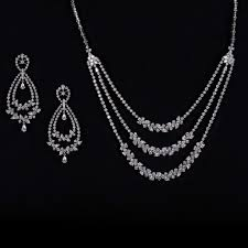 simple diamond sets new pc jeweller indian bridal diamond jewelry sets 2014 6