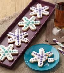 ombre snowflake cookies christmas cookie recipe from