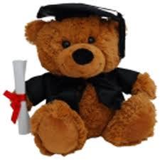 graduation bears caramel jelly graduation 23cm graduation bears and gifts