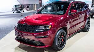 jeep grand cherokee red interior jeep grand cherokee srt night and wrangler red rock 2015 la auto
