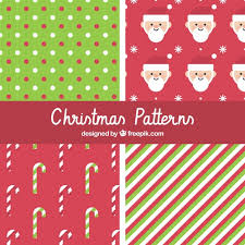 christmas pattern red green christmas patterns in red and green vector free download