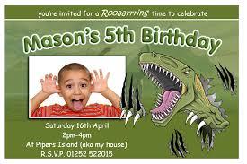 Birthday Invitation Cards For Friends Birthday Invites The Best Choice Dinosaur Birthday Invitations