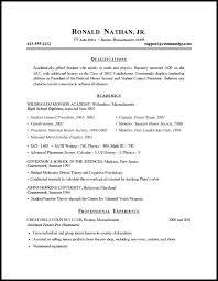 simple resume format exles simple student resume format doorlist me