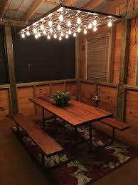 i love how our weekend project at the camper cabin turned out