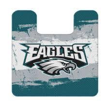 set of 2 nfl philadelphia eagles bath mats football team logo
