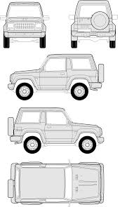 daihatsu rocky daihatsu rocky short u0026 long body smcars net car blueprints forum
