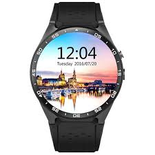 smart watches android kw88 android 5 1 os 3g smart phone w 512mb ram 4gb rom