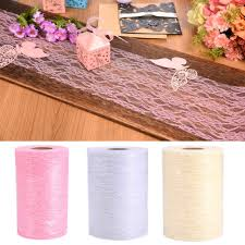 Diy Chair Sashes Aliexpress Com Buy 22m Roll Pink Beige White Lace Spool Fabric