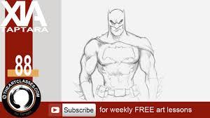 draw batman dark knight