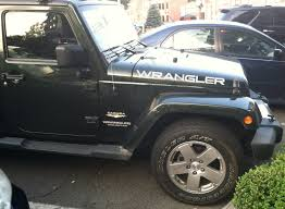 jeep hood decals pair of jeep wrangler hood truck vinyl stickers decals cj jk