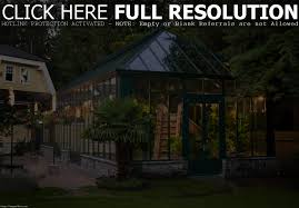 backyard greenhouse winter home outdoor decoration