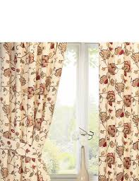 Lined Curtains Jacobean Lined Curtains Home Textiles