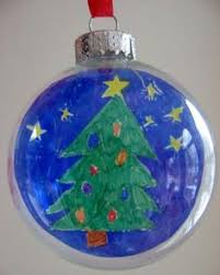 what a clever diy ornament idea just buy clear glass
