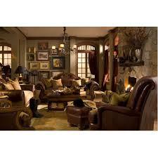 Tuscano LeatherFabric Sofa Set By Michael Amini  PC - Purchase sofa 2