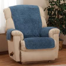 Chenille Reclining Sofa by Chenille Recliner Furniture Protector Chair Cover Walter Drake