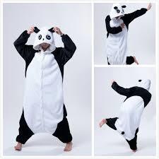 halloween onesie anime animal mascot kung fu panda onesie women female men